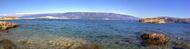 Pohled na Croatii z Rabu