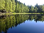 Černé jezero...a opravdu je černé :)
