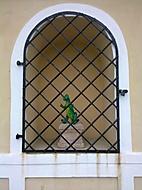svatý krokodýl spatřen v Telči
