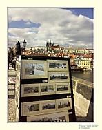 Karlův most a lapače na turisty
