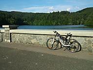 výlet na kole k přehradě