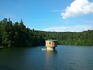 Koryčanská přehrada, ze které bumbáme vodu :)