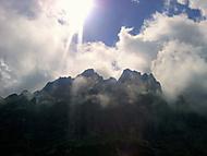 Vysoké Tatry v oblacích