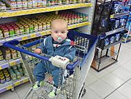 Míša a jeho první nákup