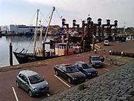 ráno v přístavu