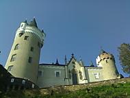 zámek Žleby