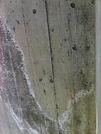 Dřevěný beton, nebo betonové dřevo.