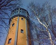 Opravená vodárenská věž