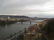 Pohled z Vyšehradu