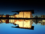 Reflection ... Anywhere (gallows) - Sony Ericsson K810i