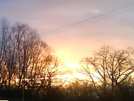 západ Karvinského slunce