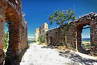 Interier hradu Děvičky