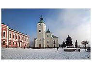 Farský kostol sv. Ondreja v zime