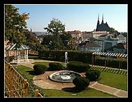 Pohled ze Špilberku  - podzimní verze