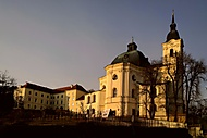 Křtiny poutní kostel