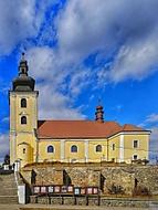 Kostel sv.Martina Blansko HDR