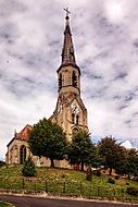 Novogotický kostel Nanebevzetí Panny Marie, Sará Ves u Přerova