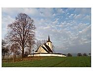Všechsvätský kostol na kúte