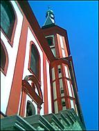 Kostel sv.Václava v Lokti