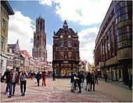 v ulicích Utrechtu