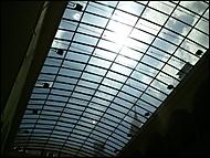 Průhledná střecha