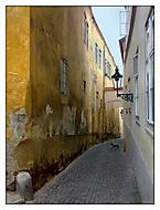 Thunovská ulička v Praze