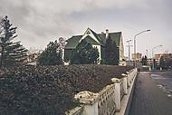 Zelený dům.