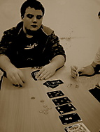 Poker face?