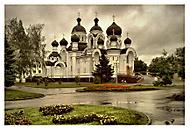 Pravoslavný chrám v Baranaviči, Bělorusko