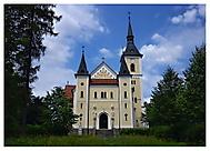 Římskokatolický kostel Nanebevzetí Panny Marie v Michálkovicích