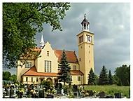 Kostel Neposkvrněného Srdce Panny Marie v Ruptawie