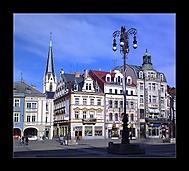 liberecké náměstí..