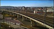 Železniční estakáda