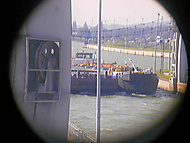 Gabčíkovo přes dalekohled