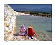 pamukkale turecko - dve číňanky :D