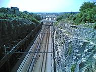 příjezd na nádraží Choceň