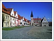 Bardejov - Radničné námestie