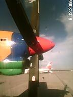 Letiště Mnichov - ještě stojíme
