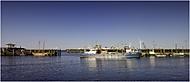 večerní přístav Den Oever