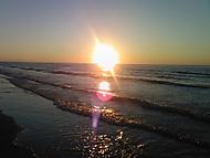 Západ slunce nad Gargánem