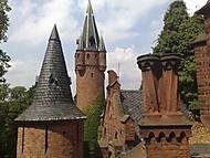 Hradec nad Moravicí - věže Červeného zámku podruhé