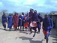 masajský tanec