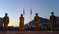 Rano u Waterfrontu v Cape Towne