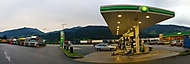 u benzínky