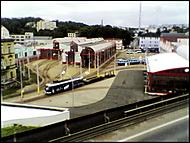 Centrum města nebo tramvajové depo?
