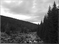 řeka v horách