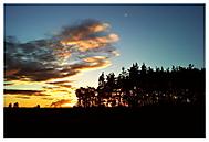 Dnes večer zapadá slunce nad ......