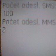 100 sms na SE K750I