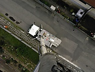 Foto z výšky 18ti metrů