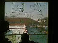 kreslení na okno o praxy